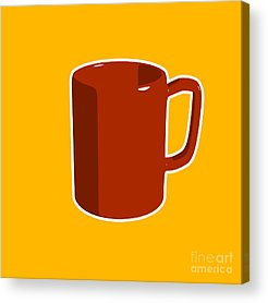 Cup Of Coffee Acrylic Prints
