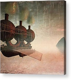 Steampunk Acrylic Prints