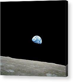 Solar Planets Acrylic Prints