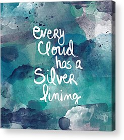 Clouds Mixed Media Acrylic Prints