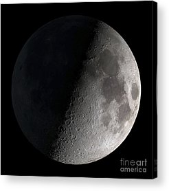 Moonlit Photographs Acrylic Prints