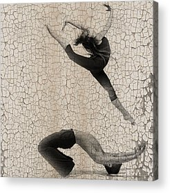 Ballet Dancers Photographs Acrylic Prints