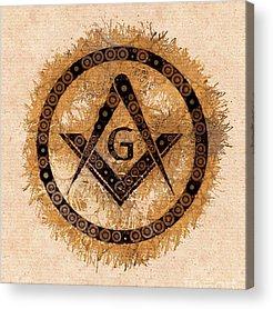 Masonic Acrylic Prints