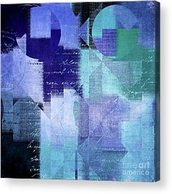 Abstrait Acrylic Prints