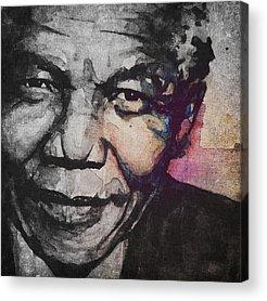 Nelson Mandela Acrylic Prints