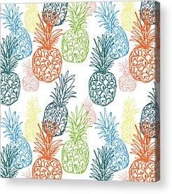 Pineapple Acrylic Prints