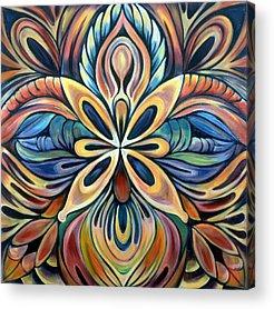 Balance Paintings Acrylic Prints
