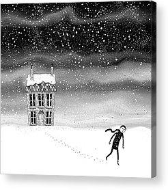 Ice Storm Acrylic Prints