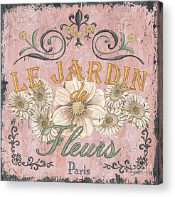 French Signs Acrylic Prints