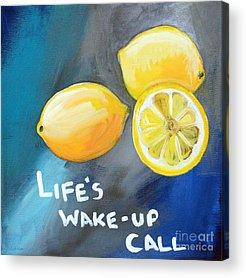 Lemon Acrylic Prints