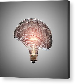 Brain Acrylic Prints