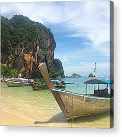 Thai Photographs Acrylic Prints