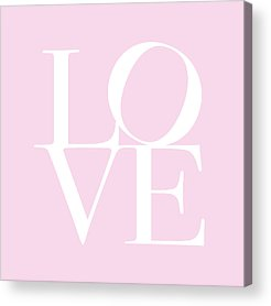 Love Acrylic Prints