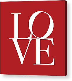 In Love Acrylic Prints
