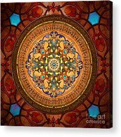 Islam Mixed Media Acrylic Prints