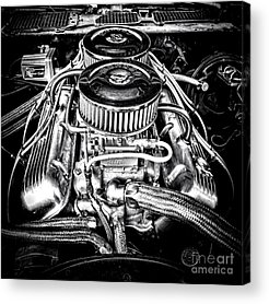V8 Engine Acrylic Prints