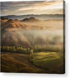 Foggy Acrylic Prints
