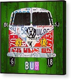 Vw Bus Acrylic Prints