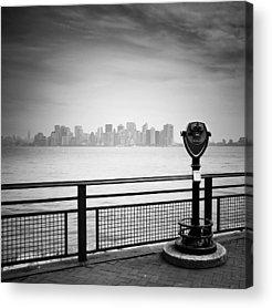 Manhattan Island Acrylic Prints