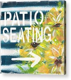 Patios Acrylic Prints