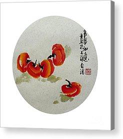 Persimon Acrylic Prints