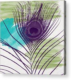 Peacock Feather Acrylic Prints