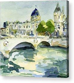Paris Acrylic Prints
