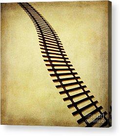 Railroads Photographs Acrylic Prints