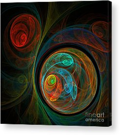 Abstract Design Acrylic Prints
