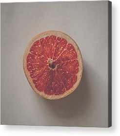 Grapefruit Acrylic Prints