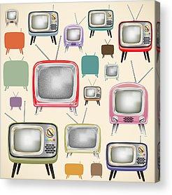 Television Program Acrylic Prints