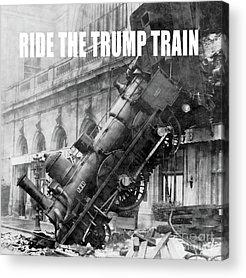 Trump Photographs Acrylic Prints