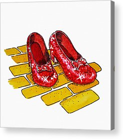 Art For Children Acrylic Prints