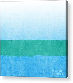 Ocean Mixed Media Acrylic Prints