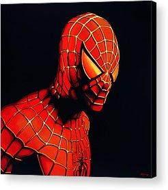Spider Acrylic Prints