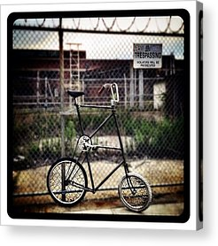 Bicycles Acrylic Prints