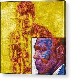 Famous Acrylic Prints
