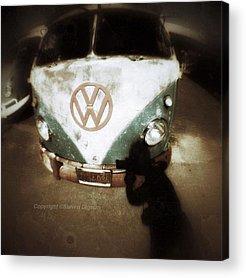 Volkswagen Bus Acrylic Prints