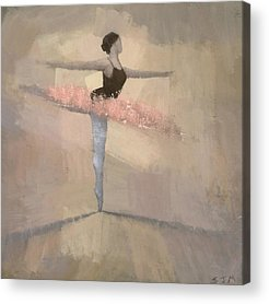 Ballerina Acrylic Prints