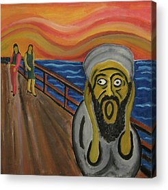 Extremism Paintings Acrylic Prints