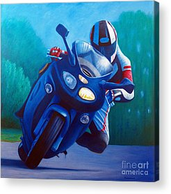 Motorcycle Acrylic Prints