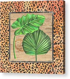 Botany Mixed Media Acrylic Prints