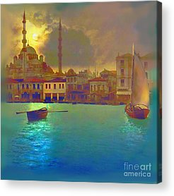 Modern Islamic Paintings Acrylic Prints