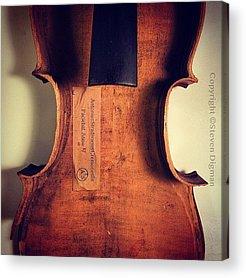 String Instrument Acrylic Prints