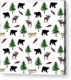 Bear Country Acrylic Prints