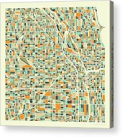 University Of Illinois Acrylic Prints