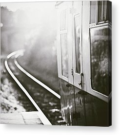 Railroad Station Photographs Acrylic Prints