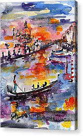 Venice Italy Ginette Acrylic Prints