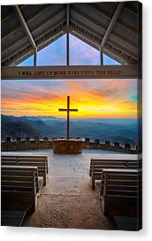 Chapel Acrylic Prints