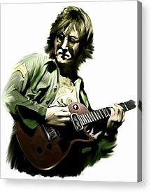 John Lennon Art Works Acrylic Prints